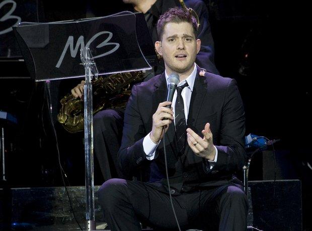 Michael Bublé on tour