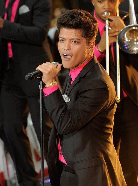 Bruno Mars on NBC