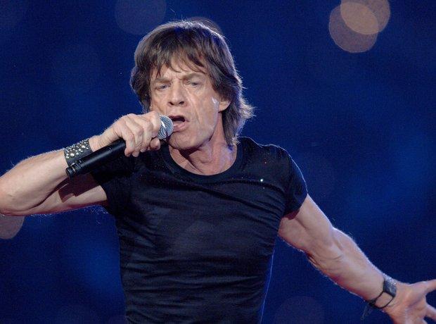 Mick Jagger Super Bowl