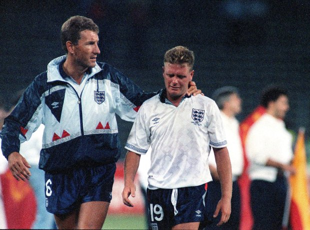 Paul Gascoigne World Cup 1990