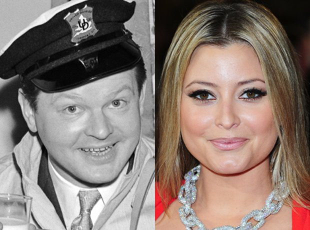 Related Celebrities Benny Hill and Holly Valance