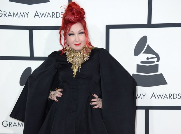 Cyndi Lauper at the Grammy Awards 2014