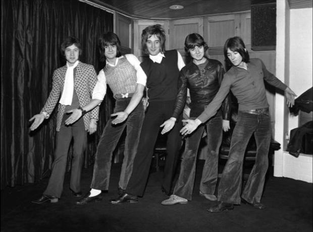 Rod Stewart and The Faces in 1969