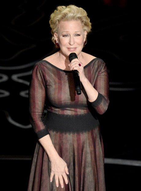 Bette Midler at the Oscars 2014 live
