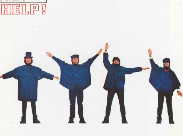 Beatles Help Album Cover