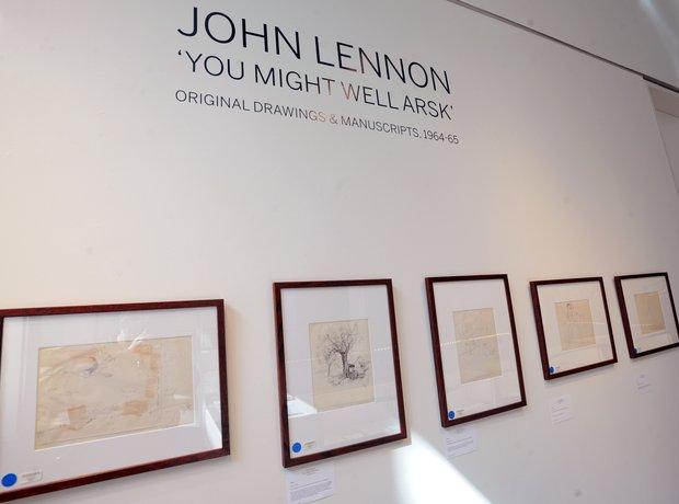 """John Lennon '""""You Might Well Arsk"""
