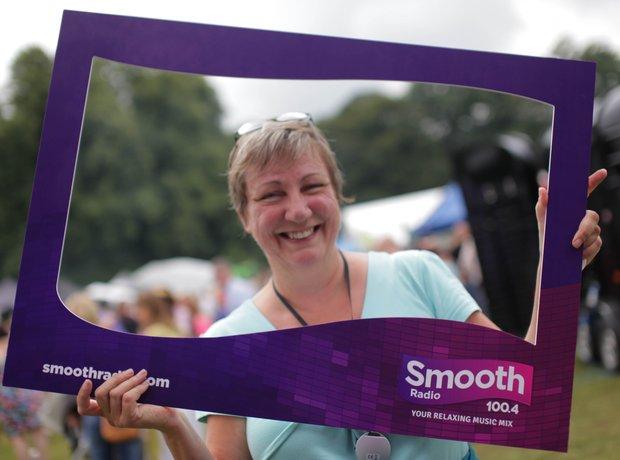 Smooth Radio at the Foodies Festival, Tatton Park