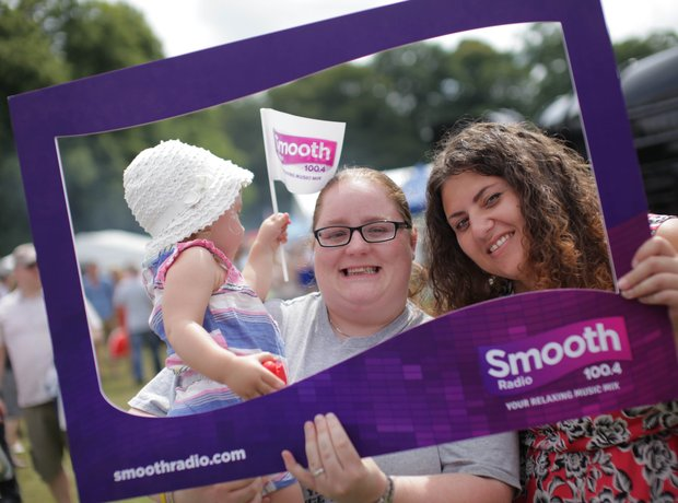 Smooth Radio at the Foodies Festival, Tatton Park