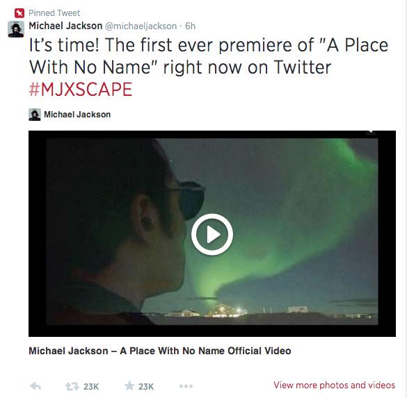 Michael Jackson Twitter