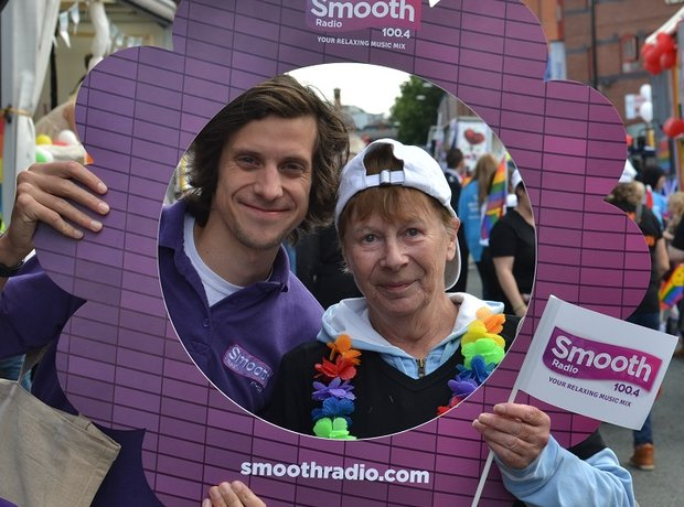 Smooth Radio at Manchester Pride