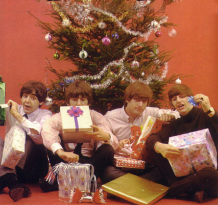The Beatles at Christmas