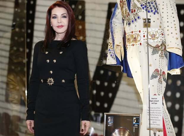 Priscilla Presley helps launch Elvis exhibition