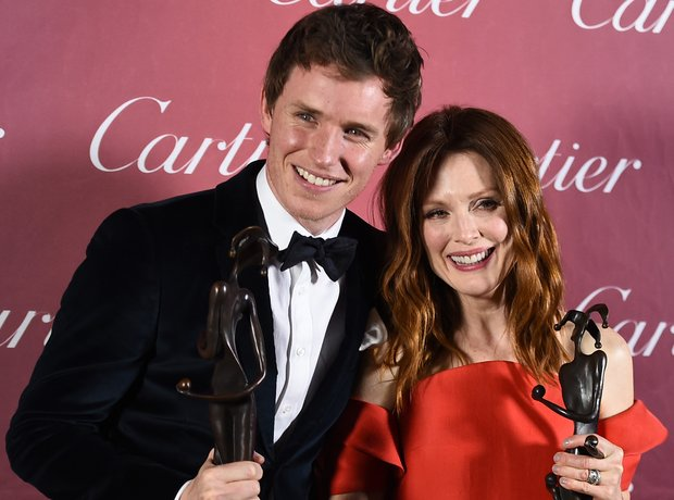 Eddie Redmayne and Julianne Moore win Desert Palm