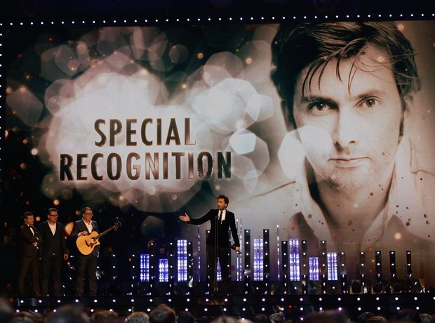 David Tennant won a Special Recognition Award
