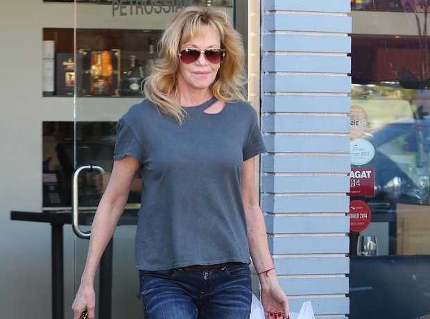 Melanie Griffith in LA