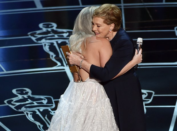 Lady Gaga and Julie Andrews