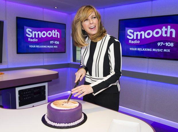 Kate Garraway celebrates her first anniversary