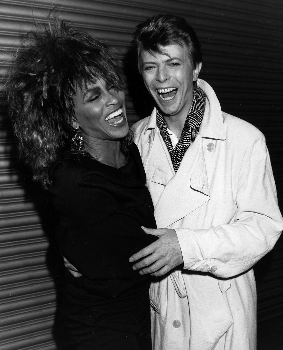 Tina Turner and David Bowie
