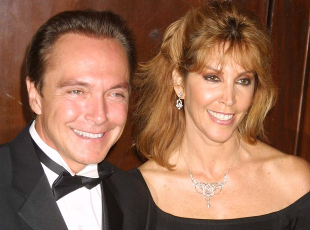 David Cassidy with wife Sue Shifrin