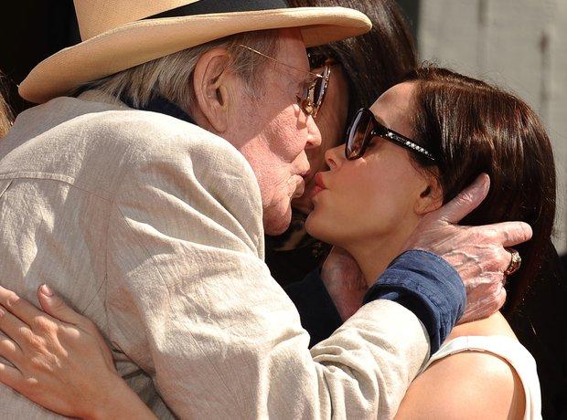 Peter O'Toole Rose McGowan Kiss
