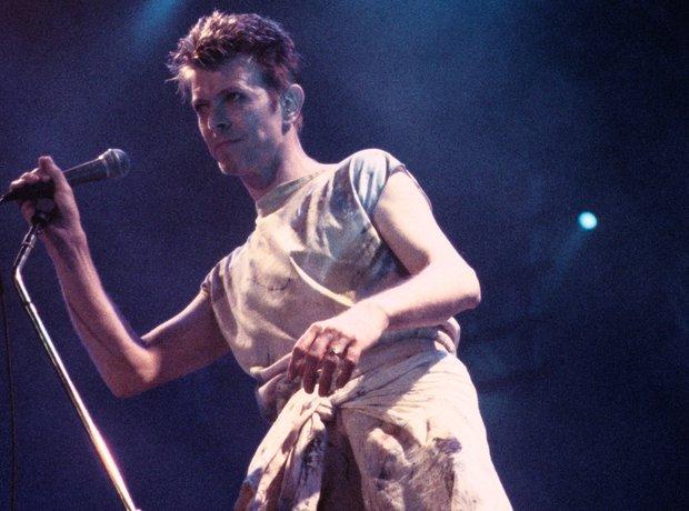 David Bowie glam