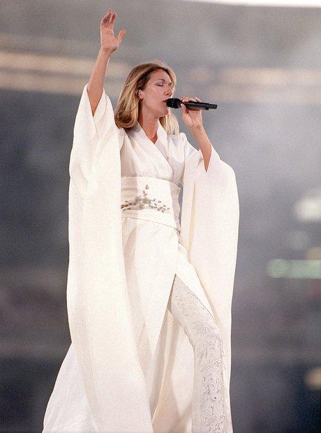 Celine Dion on Stage