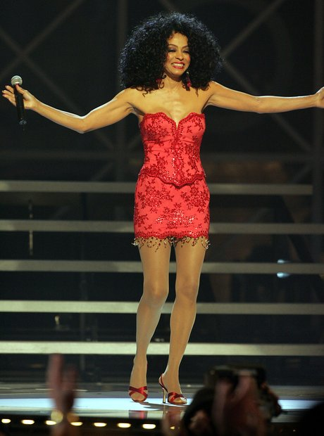 Diana Ross Red Dress