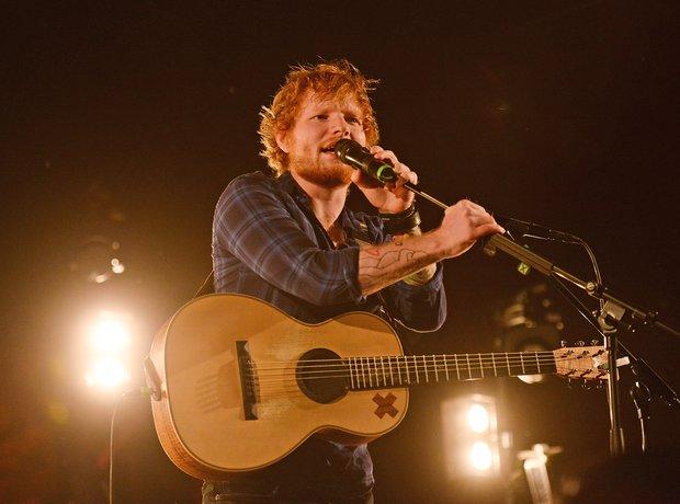 Ed Sheeran at Latitude Festival