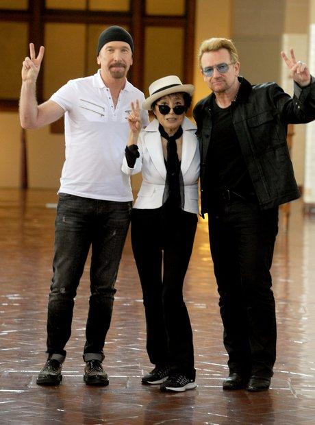 Amnesty International honours John Lennon with Bon