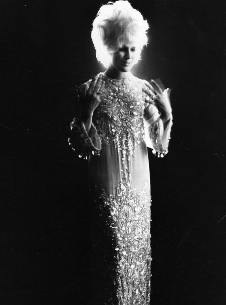 Dusty Springfield dressed up