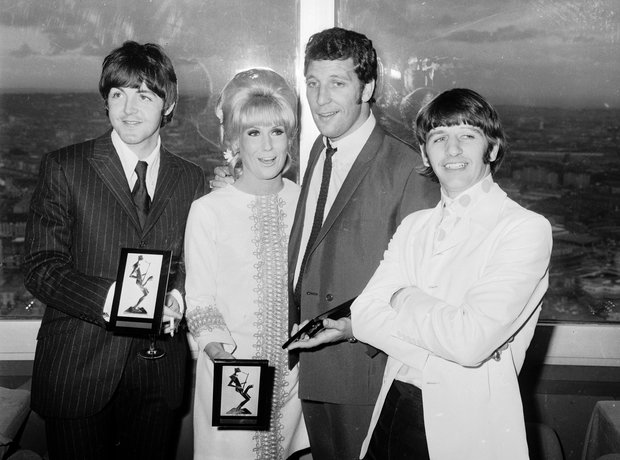 Dusty Springfield, Tom Jones, Ringo Starr award