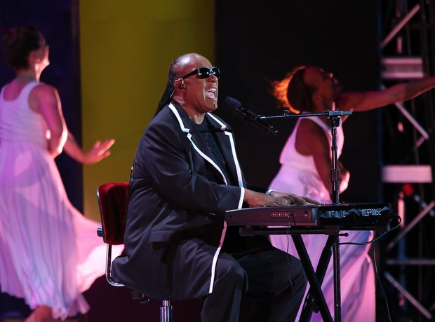Stevie Wonder Special Olymics