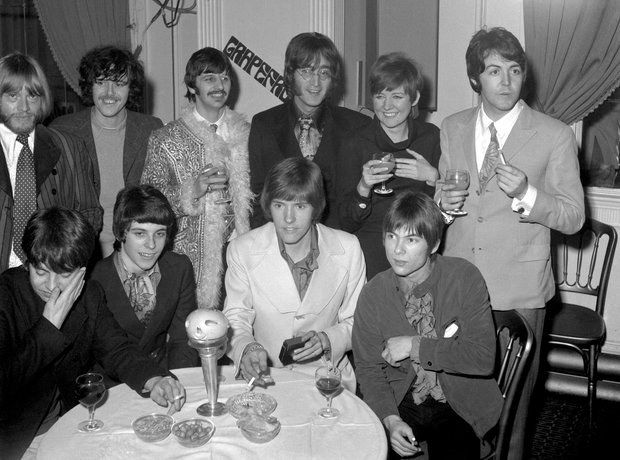 Cilla Black with The Beatles