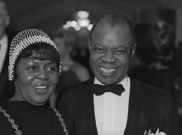 louis armstrong and wife Lucille