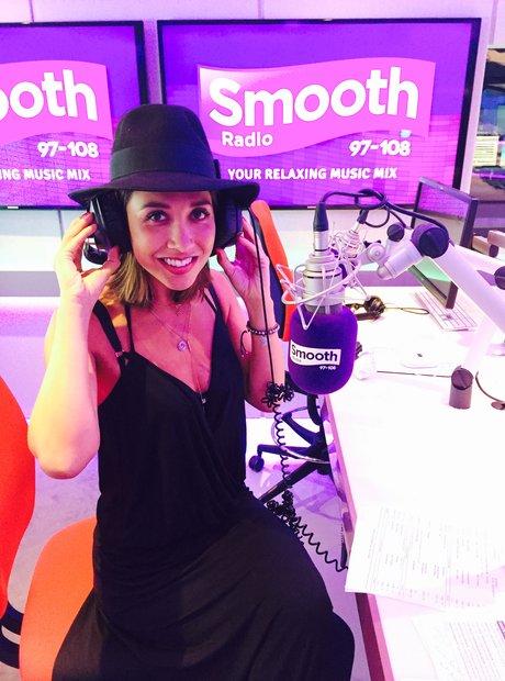 Myleene Klass at Smooth Radio