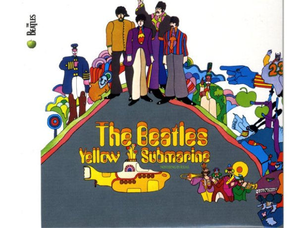 Beatles Single Yellow Submarine