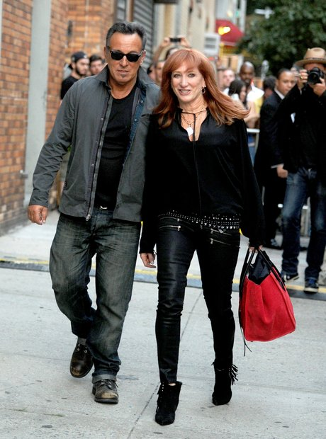 Bruce Springsteen and wife Patti Scialfa