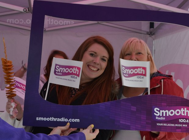 Smooth Radio at the tenth Bolton Food & Drink Fest