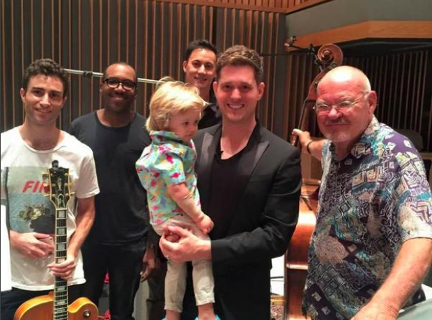michael buble instagram studio