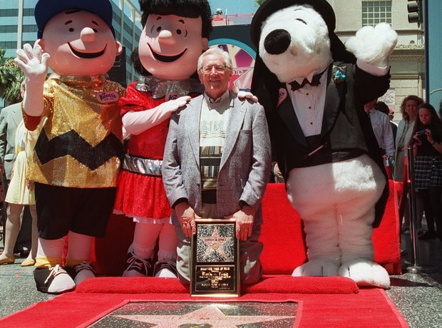 charles schulz hollywood walk of fame