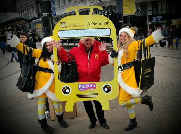 Transport For Greater Manchester Elfie Selfies