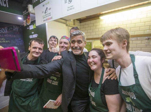 George Clooney Edinburgh