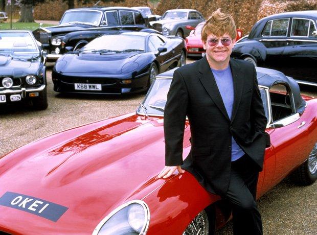 Rock Star Cars Elton John