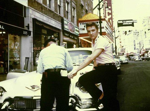 Rock Star Cars Elvis Presley
