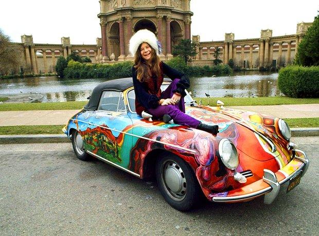 Rock Star Cars Janis Joplin