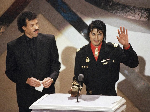 Lionel Richie And Michael Jackson
