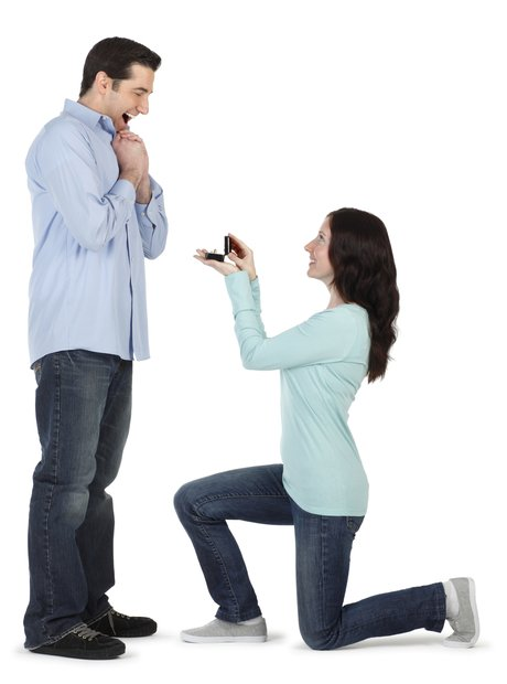 Leap Year - Woman proposing to man