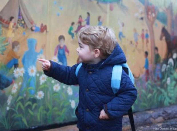 Prince George at Nursery