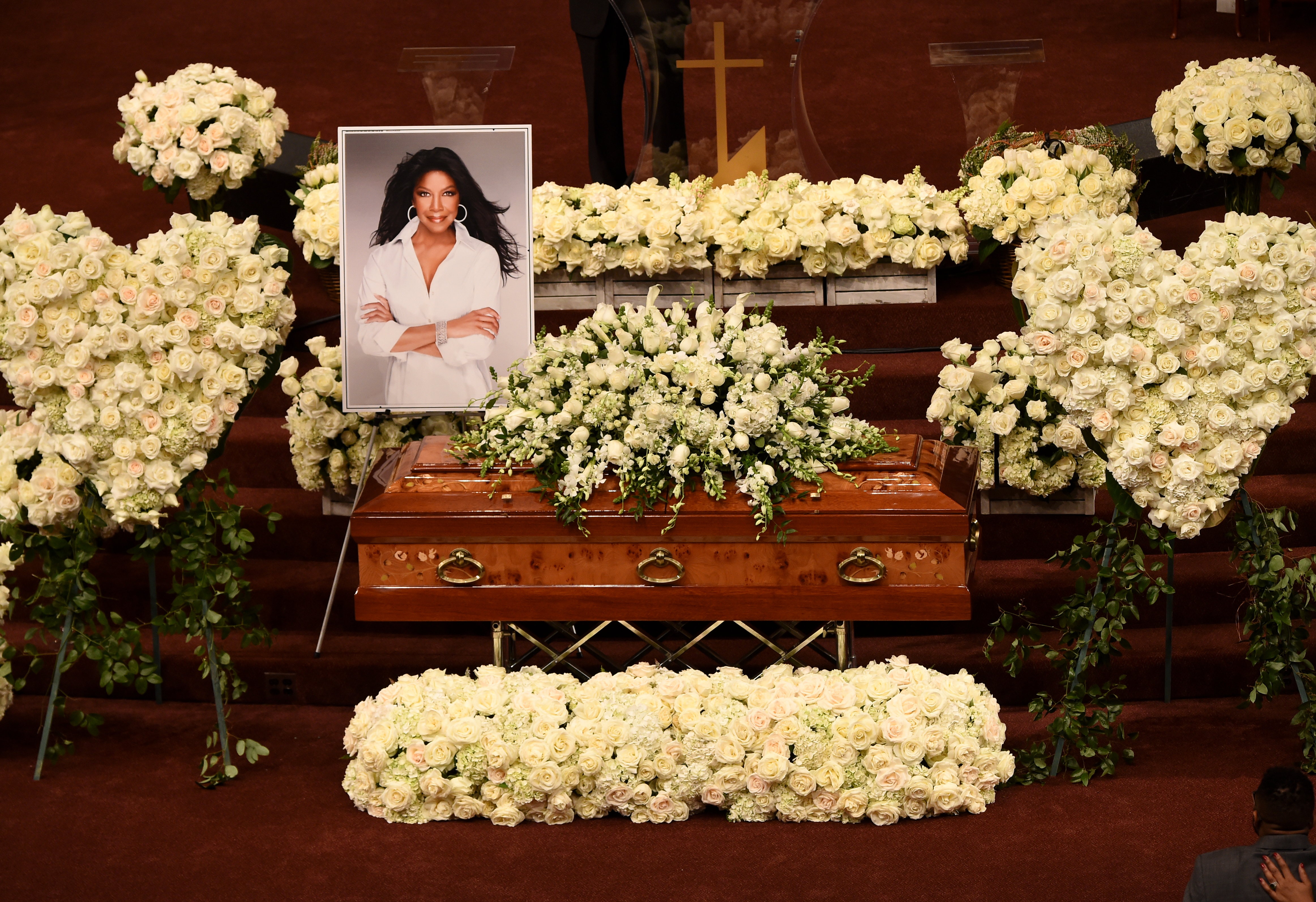 natalie cole funeral