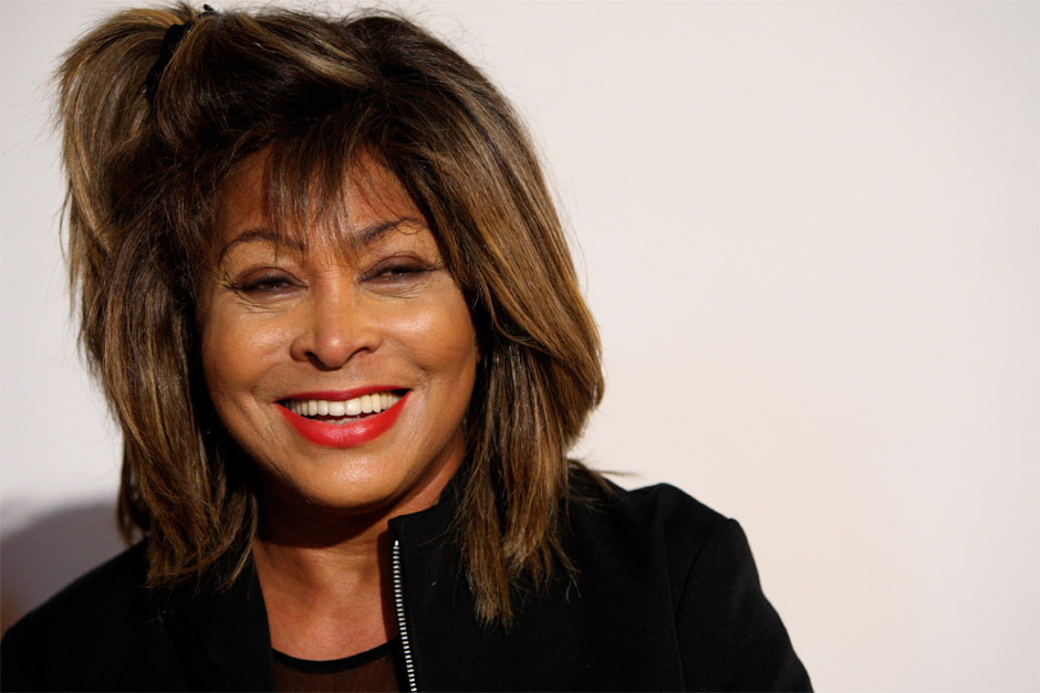 Tina Turner Smile